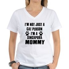 Singapura Cat Design Shirt