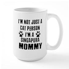 Singapura Cat Design Mug