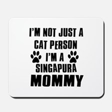 Singapura Cat Design Mousepad