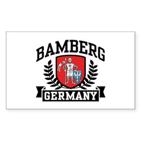Bamberg Germany Sticker (Rectangle)