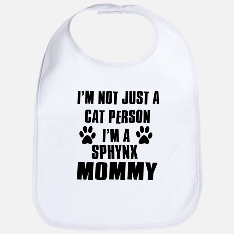Sphynx Cat Design Bib