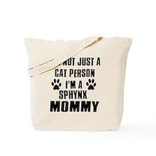 Sphynx Cat Design Tote Bag