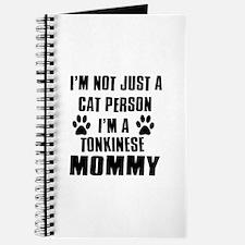 Tonkinese Cat Design Journal