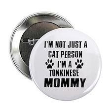 "Tonkinese Cat Design 2.25"" Button"