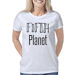 Unique Hand Print Green T-Shirt