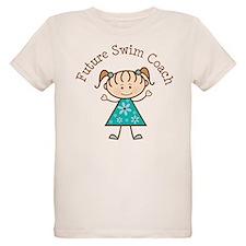 Future Swim Coach Girl T-Shirt