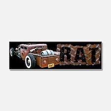Rat Rod Truck Car Magnet 10 x 3