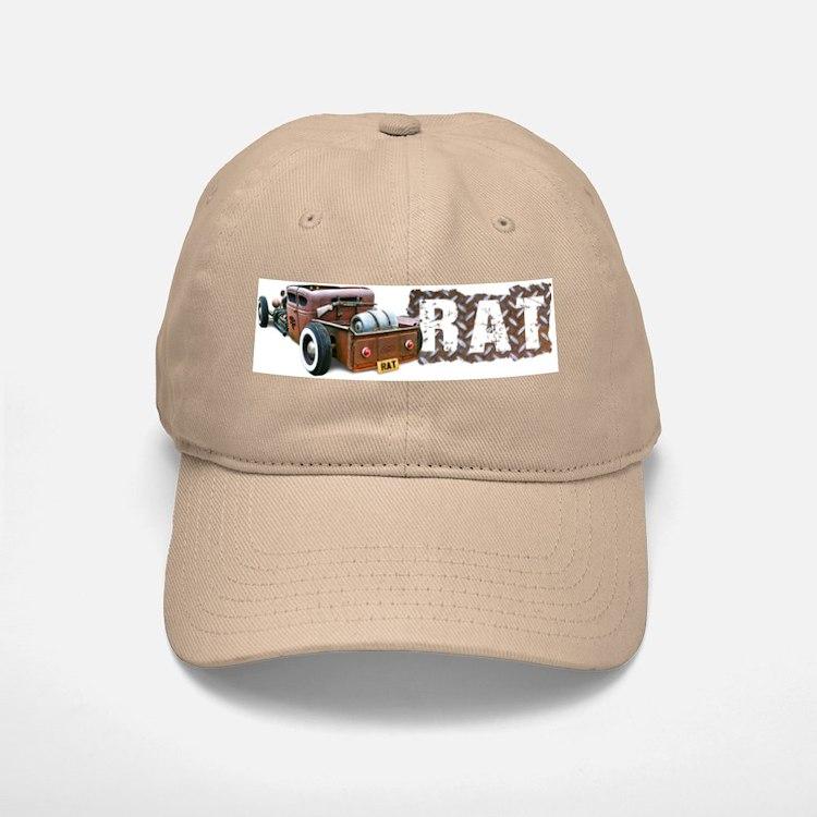 Rat Rod Truck Baseball Baseball Cap