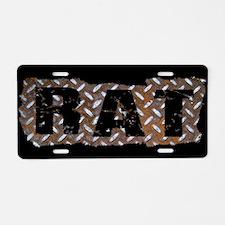 Rat Rod Truck Aluminum License Plate