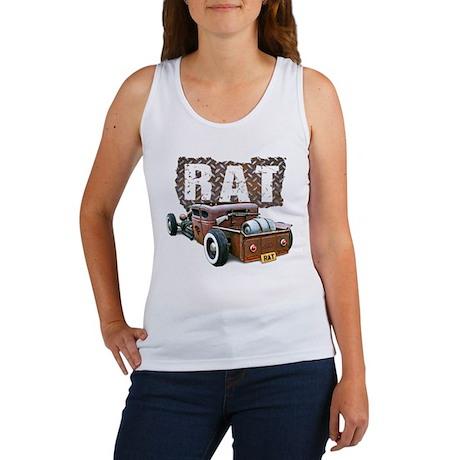 Rat Rod Truck Women's Tank Top