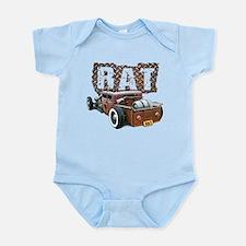 Rat Rod Truck Infant Bodysuit
