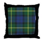 Tartan - Gordon of Esselmont Throw Pillow