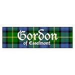 Tartan - Gordon of Esselmont Sticker (Bumper)
