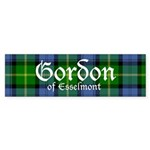 Tartan - Gordon of Esselmont Sticker (Bumper 10 pk