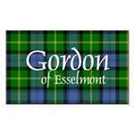 Tartan - Gordon of Esselmont Sticker (Rectangle 10