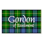 Tartan - Gordon of Esselmont Sticker (Rectangle 50