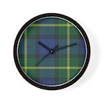 Tartan - Gordon of Esselmont Wall Clock