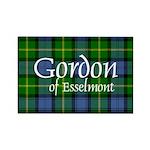 Tartan - Gordon of Esselmont Rectangle Magnet (10
