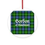 Tartan - Gordon of Esselmont Ornament (Round)