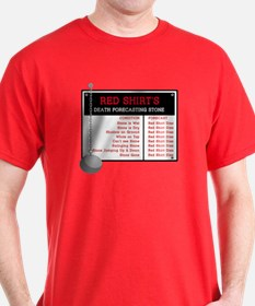 Red Shirt's Death Forecasting T-Shirt