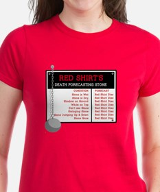 Red Shirt's Death Forecasting Tee
