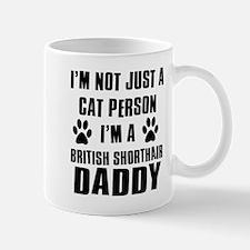 British Short-hair Daddy Mug
