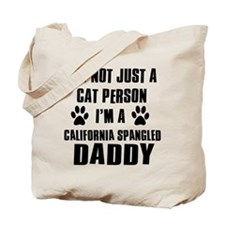 California Spangled Daddy Tote Bag