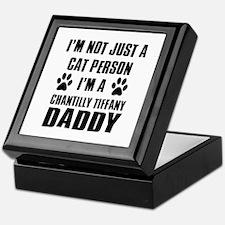 Chantilly Tiffany Daddy Keepsake Box