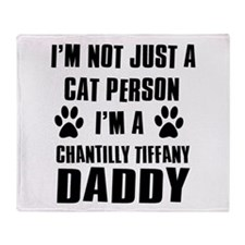 Chantilly Tiffany Daddy Throw Blanket
