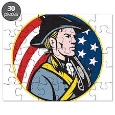 American Patriot Minuteman Puzzle