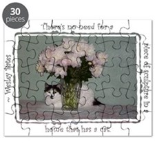 Cats & Peonies 2 Puzzle