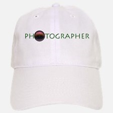 Photographer-Lens-Green- Baseball Baseball Cap