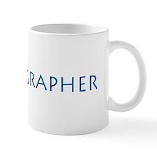 PHOTOGRAPHER-LENS-BLUE- Mug