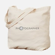 PHOTOGRAPHER-DIAL-GREY- Tote Bag