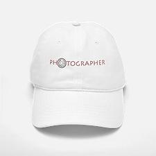 PHOTOGRAPHER-DIAL-RED- Baseball Baseball Cap