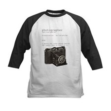Definition and vintage camera Tee