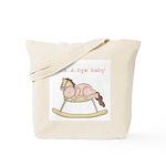 Rockabye Baby (white girl) Tote Bag