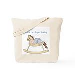 Rockabye Baby (white boy) Tote Bag