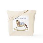 Rockabye Baby (African American Boy) Tote Bag