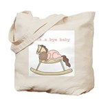 Rockabye Baby (African American Girl) Tote Bag