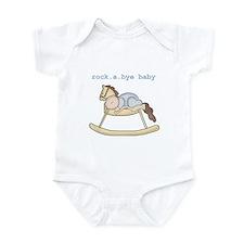 Rockabye Baby (white boy) Infant Creeper