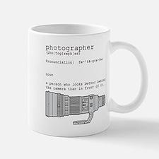 Definition and vintage camera Mug