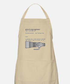 Definition and vintage camera Apron