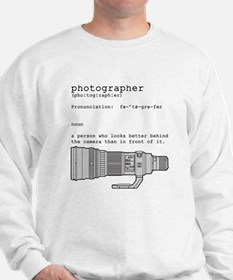 Definition and vintage camera Sweatshirt
