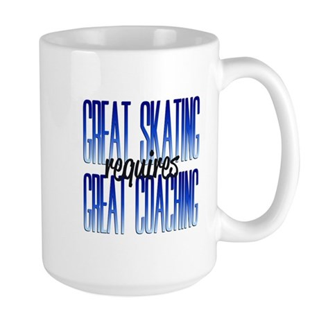 Great Coaching Large Mug