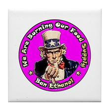 Ban Ethanol ~ Tile Coaster