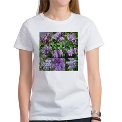 Lilac Collage #16 Women's T-Shirt