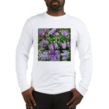Lilac Collage #16 Long Sleeve T-Shirt