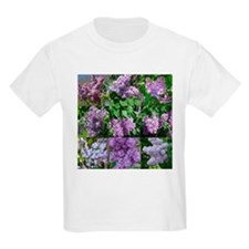 Lilac Collage #16 Kids T-Shirt