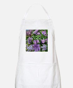 Lilac Collage #16 BBQ Apron